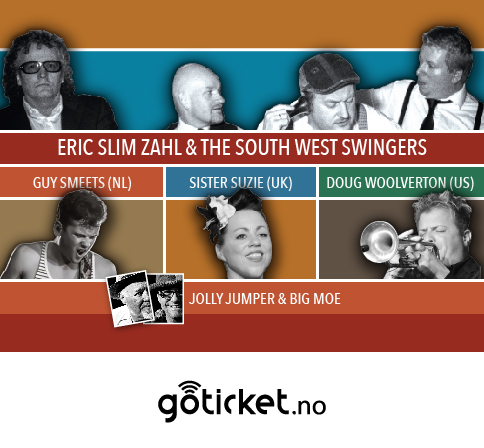Nyttårsblues 2018 - Eric Slim Zahl & the South West Swingers